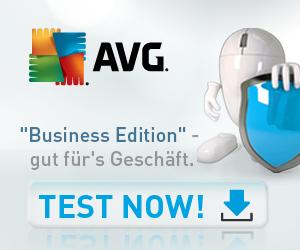 AVG Business Edition - Gut für's Geschäft - Jetzt testen!
