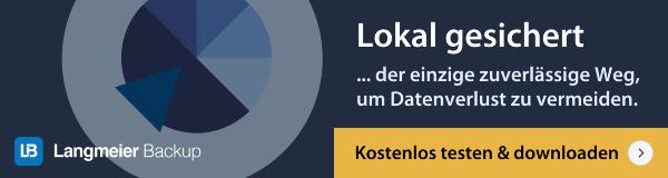Langmeier Backup kostenlose Testversion downloaden