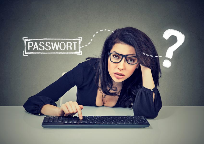 Immer dieses Passwort-Chaos...