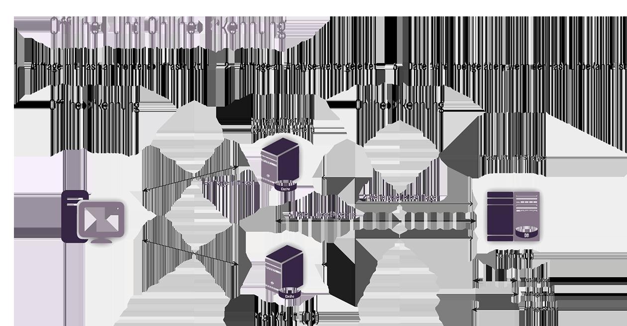 Offline- und Online-Erkennung